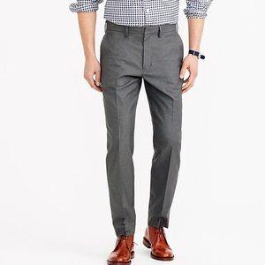 J. Crew ludlow classic heather twill dress pants